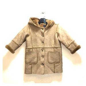 Gap toddler faux shearling coat